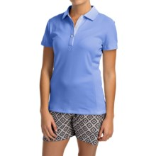 Puma Cresting Tech Polo Shirt - UPF 30+, Short Sleeve (For Women) in Ultramarine - Closeouts
