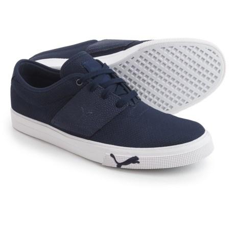 Puma El Ace Textured Sneakers (For Men) in Peacoat