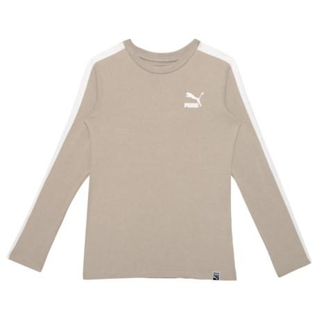 eea1e9963 Puma Elephant Skin T7 T-Shirt - Long Sleeve (For Big Boys) in