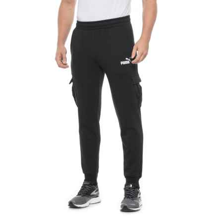 Puma Elevated Essential Joggers (For Men) in Cotton Black - Closeouts
