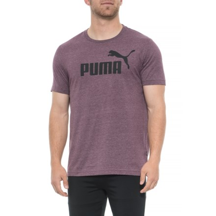5220cedc1f0 Puma Elevated Essential T-Shirt - Short Sleeve (For Men) in Fig Heather