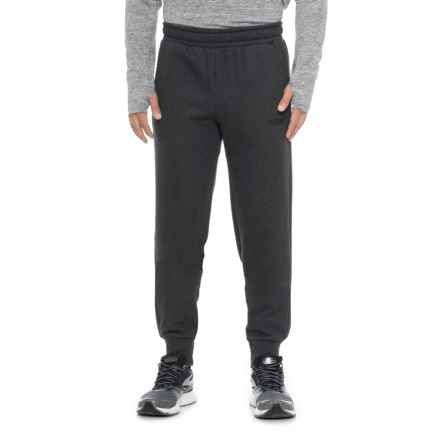Puma Essential Logo Joggers (For Men) in Dark Gray Heather - Closeouts