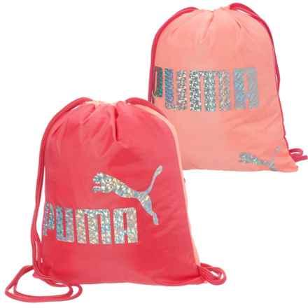 Puma Evercat Advantage Reversible 4L Carrysak (For Girls) in Pink - Closeouts