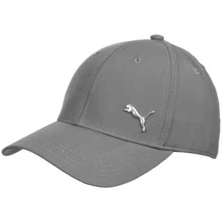 Puma Evercat Alloy Stretch Fit Baseball Cap (For Men) in Medium Grey - Closeouts