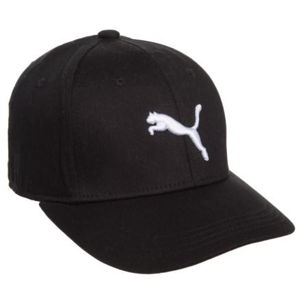 b50aa354d9a Puma Evercat Anthem Stretch-Fit Baseball Cap (For Kids) in Black White