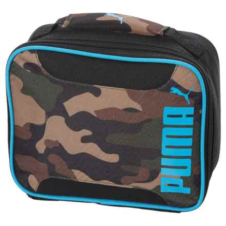 Puma Evercat Contender 2.0 Lunch Box (For Kids) in Brown/Blue - Closeouts