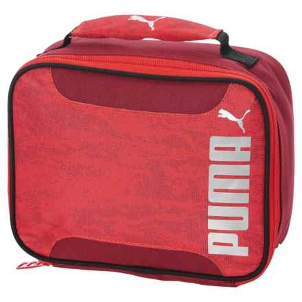 Puma Evercat Contender 2.0 Lunch Box (For Kids) in Red/Black - Closeouts