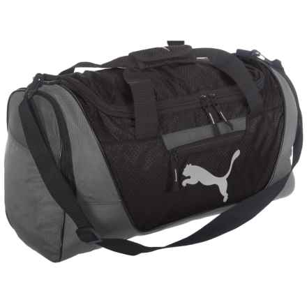 Puma Evercat Contender 3.0 Duffel Bag in Gray / Black - Closeouts