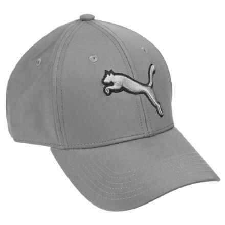 Puma Evercat Dillon Stretch Fit Baseball Cap (For Men) in Medium Grey - Closeouts