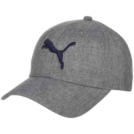 Puma Evercat Icon Snap-Back Baseball Cap (For Men) in Grey/Navy - Closeouts