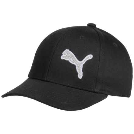 Puma Evercat Katrina Baseball Cap (For Kids) in Black - Closeouts