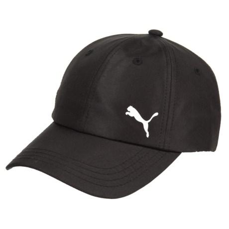 Puma Evercat Lily Adjustable Baseball Cap (For Women) in Black/White
