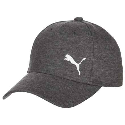 Puma Evercat Manchester Relaxed Fit Baseball Cap - Adjustable (For Women) in Charcoal - Closeouts
