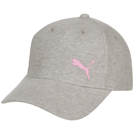 Puma Evercat Manchester Relaxed Fit Baseball Cap - Adjustable (For Women) in Light Grey