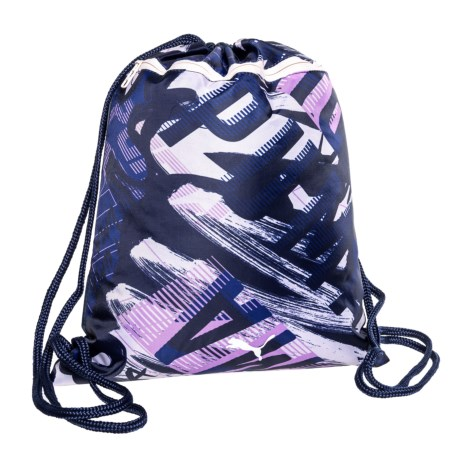 Puma Evercat Match Carrysak Drawstring Backpack (For Girls) in Navy/Pink