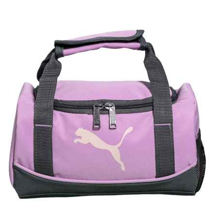 Puma Evercat Mini Duffel Lunch Box (For Girls) in Pink/Grey - Closeouts