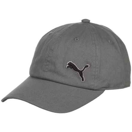Puma Evercat Newport Relaxed Fit Baseball Cap - Adjustable (For Men) in Gray/Black - Closeouts