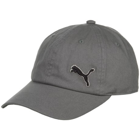 Puma Evercat Newport Relaxed Fit Baseball Cap - Adjustable (For Men) in Gray/Black
