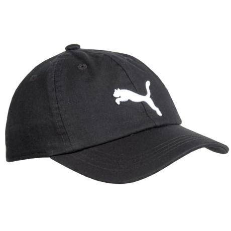 Puma Evercat Podium Baseball Cap (For Kids) in Black/White