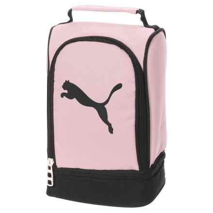 Puma Evercat Stacker 2.0 Lunch Box (For Girls) in Light Pastel Pink - Closeouts