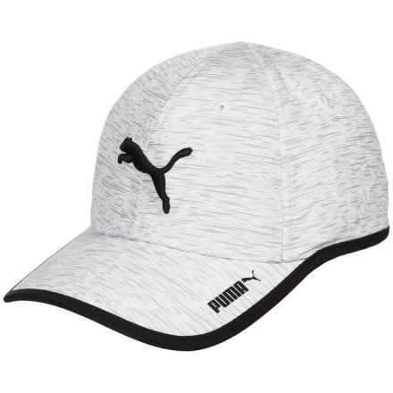 Puma Evercat Taylor Running Baseball Cap (For Women) in White/Black - Closeouts