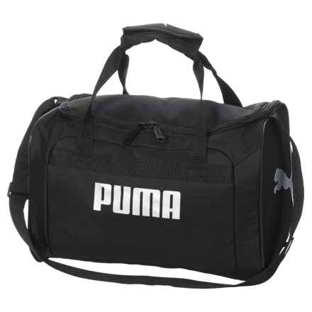 Puma Evercat Youth Transformation JR Duffel Bag (For Boys) in Black/Silver - Closeouts