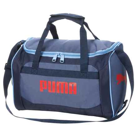 Puma Evercat Youth Transformation JR Duffel Bag (For Boys) in Navy/Red - Closeouts