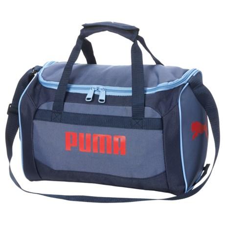 Puma Evercat Youth Transformation JR Duffel Bag (For Boys) in Navy/Red