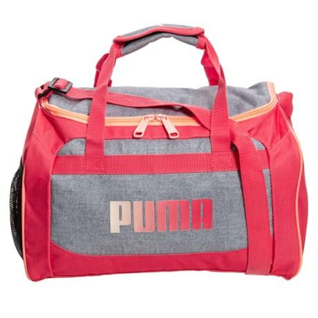 4774f261ca5f Puma Evercat Youth Transformation Junior Duffel Bag (For Girls) in Heather