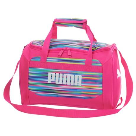 Puma Evercat Youth Transformation Junior Duffel Bag (For Girls) in Pink Multi
