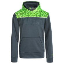 Puma Extreme Prism Hoodie (For Big Boys) in Charcoal - Closeouts