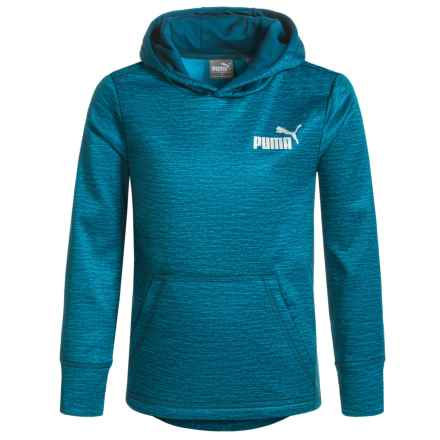 Puma Fleece Hoodie (For Little Boys) in P408 Sailor Blue - Closeouts