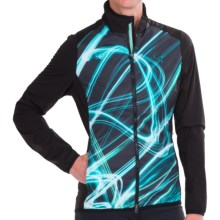 Puma Fluid Light Golf Jacket (For Women) in Black Sublimation Print - Closeouts