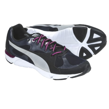 Puma Formlite XT Cross Training Sneakers (For Women) in Black/Wild Aster