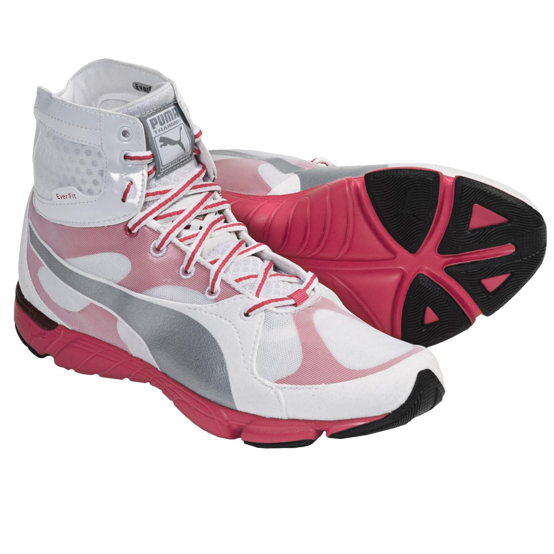 Puma Formlite XT Mid Sneakers (For Women) in White/Puma Silver
