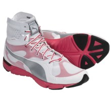 Puma Formlite XT Mid Sneakers (For Women) in White/Puma Silver/Teaberry Red - Closeouts