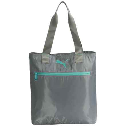 Puma Fundamentals Shopping Tote Bag (For Women) in Medium Grey - Closeouts