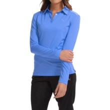 Puma Golf Polo Shirt - UPF 30+, Long Sleeve (For Women) in Ultramarine - Closeouts