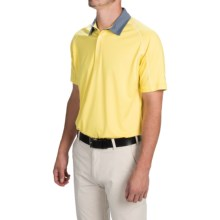 Puma Golf Titan Tour Polo Shirt - UPF 40+, Short Sleeve (For Men and Big Men) in Aurora - Closeouts