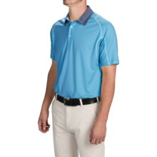 Puma Golf Titan Tour Polo Shirt - UPF 40+, Short Sleeve (For Men and Big Men) in Hawaiian Ocean - Closeouts