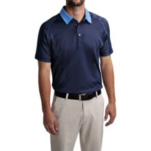 Puma Golf Titan Tour Polo Shirt - UPF 40+, Short Sleeve (For Men and Big Men) in Peacoat - Closeouts