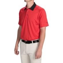 Puma Golf Titan Tour Polo Shirt - UPF 40+, Short Sleeve (For Men and Big Men) in Puma Red - Closeouts