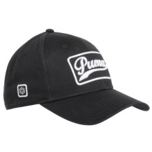 Puma Greenskeeper Cap (For Men and Women) in Black/White - Closeouts