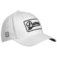 Puma Greenskeeper Cap (For Men and Women) in White - Closeouts