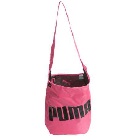Puma Hannah Reversible Satchel (For Women) in Black/Pink - Closeouts