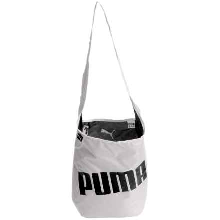 Puma Hannah Reversible Satchel (For Women) in Black/White - Closeouts
