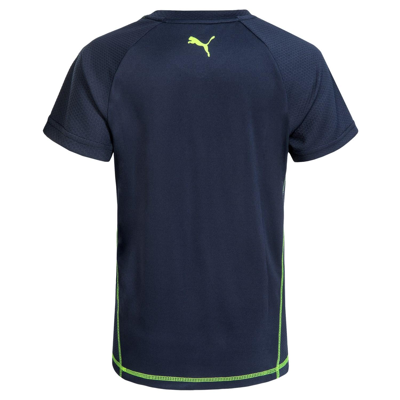 Puma Logo T Shirt For Big Boys Save 53