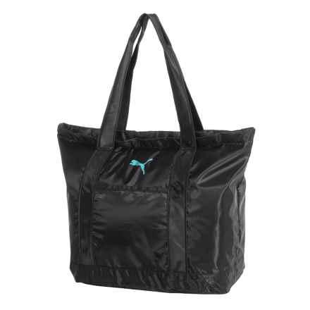 Puma Molly Tote Bag (For Women) in Black - Closeouts