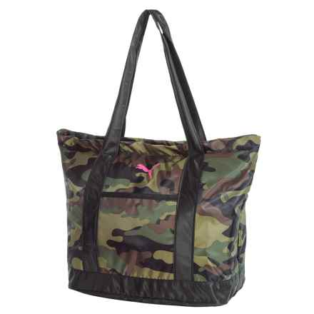 Puma Molly Tote Bag (For Women) in Camouflage - Closeouts