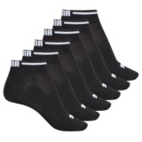 Puma Non-Terry Socks - 6-Pack, Below the Ankle (For Women)